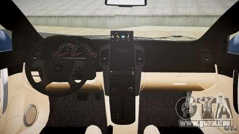 Chevrolet Captiva 2010 Final pour GTA 4 est une vue de dessous