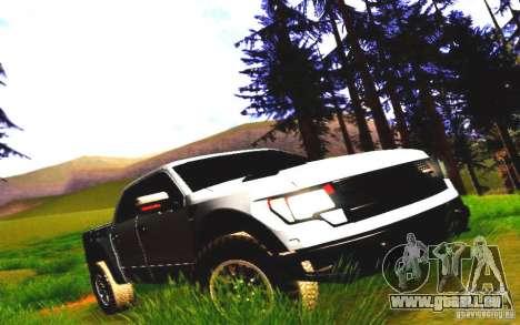 Ford Raptor Crewcab 2012 für GTA San Andreas linke Ansicht