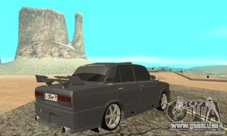 VAZ 2105 Night Hunter für GTA San Andreas linke Ansicht