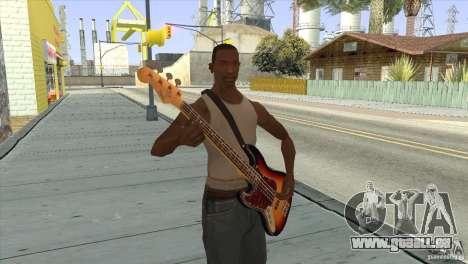 Chansons de films à la guitare pour GTA San Andreas cinquième écran