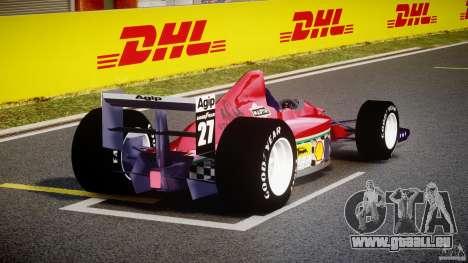 Ferrari Formula 1 pour GTA 4 est un côté