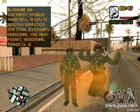 Pilote de COD4 pour GTA San Andreas