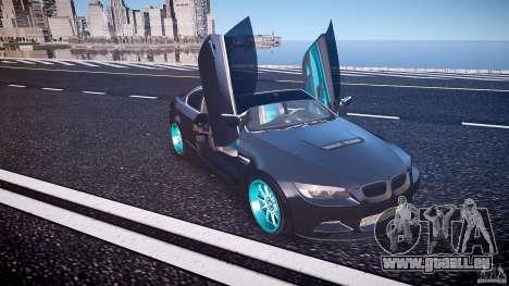 BMW E92 pour GTA 4 Salon