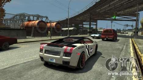 Lamborghini Gallardo LP560-4 [EPM] für GTA 4 hinten links Ansicht