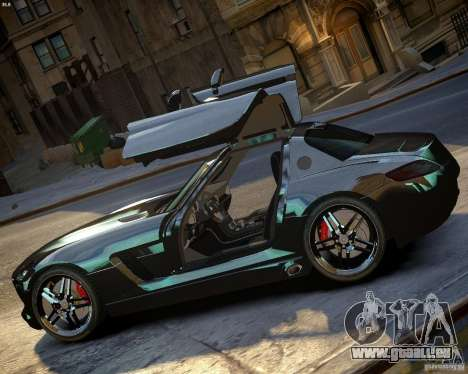Mercedes SLS Extreme pour GTA 4 est une gauche