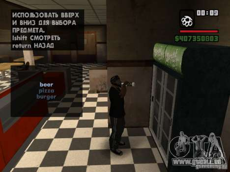 Restaurant in San Fierro für GTA San Andreas dritten Screenshot