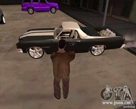 Die Haut ist ein Mitglied der mafia für GTA San Andreas fünften Screenshot