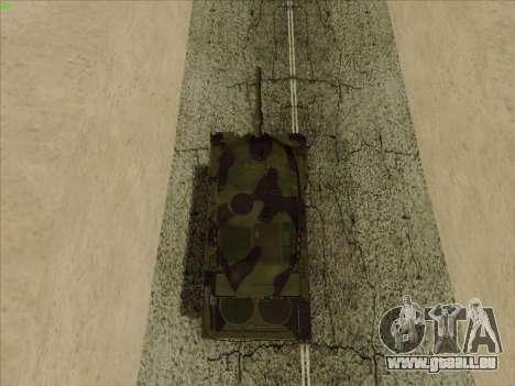 Leopard 2A6 pour GTA San Andreas vue arrière