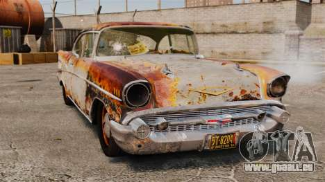 Chevrolet Bel Air 1957 Rusty pour GTA 4