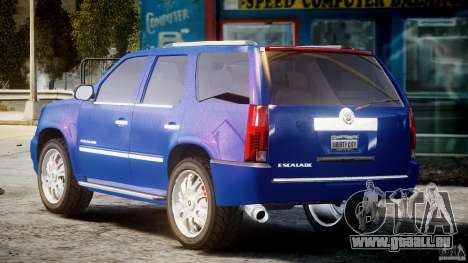 Cadillac Escalade [Beta] für GTA 4 hinten links Ansicht
