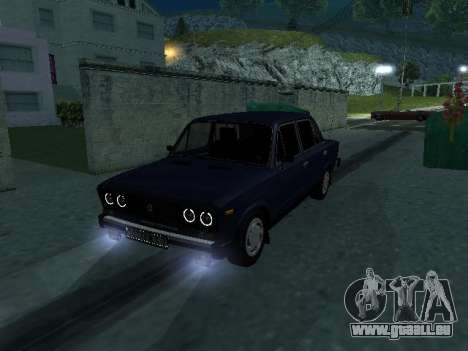 VAZ 21065 für GTA San Andreas obere Ansicht