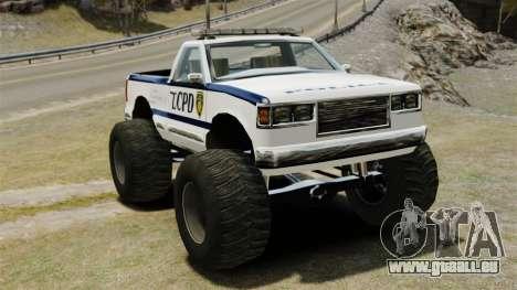 COP Monster Truck ELS pour GTA 4