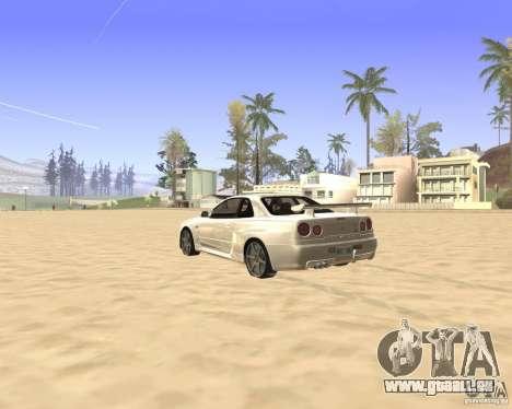 ENBSeries By Krivaseef für GTA San Andreas dritten Screenshot