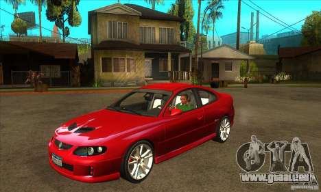 Holden Monaro CV8-R für GTA San Andreas