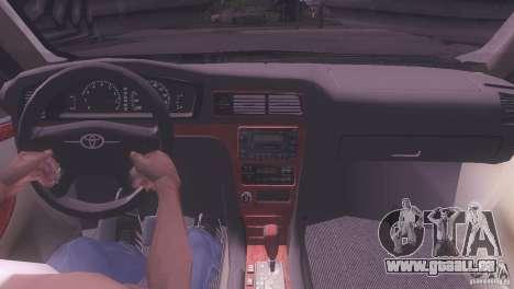 Toyota Crown pour GTA San Andreas sur la vue arrière gauche