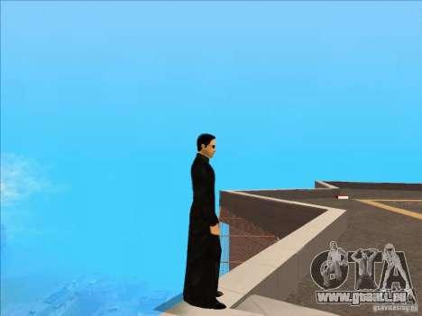Matrix Skin Pack pour GTA San Andreas deuxième écran