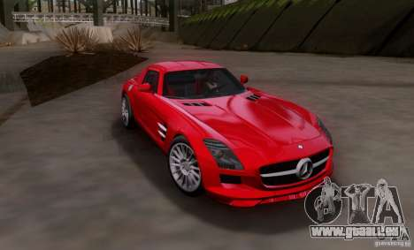 Mercedes-Benz SLS AMG V12 TT Black Revel für GTA San Andreas