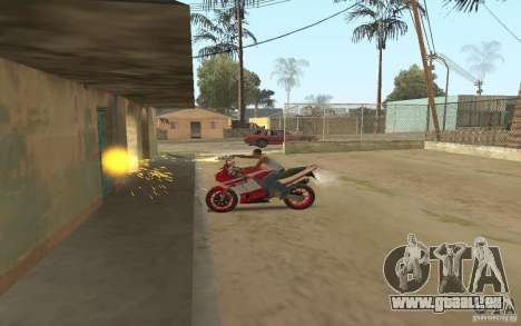 The best effects from GTA IV pour GTA San Andreas