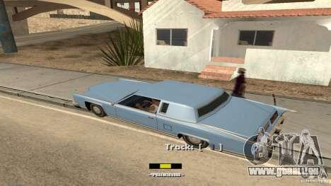 Music car v4 pour GTA San Andreas