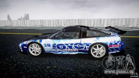 Nissan 240sx Toyo Kawabata für GTA 4 linke Ansicht