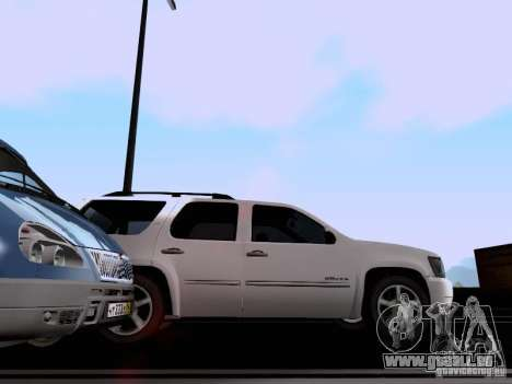 Chevrolet Tahoe LTZ 2013 für GTA San Andreas Rückansicht