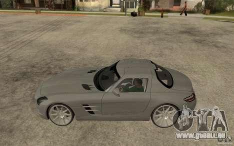 Mercedes-Benz SLS pour GTA San Andreas laissé vue