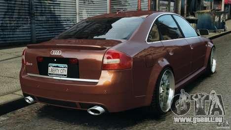 Audi RS6 2003 pour GTA 4 Vue arrière de la gauche