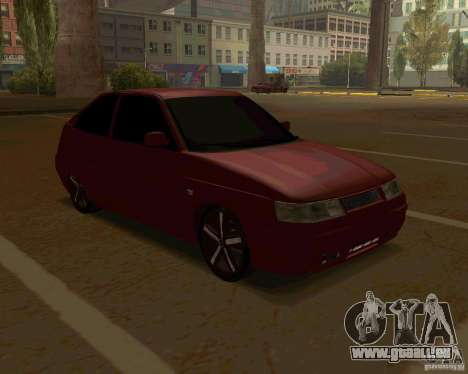 LADA 2112 coupé c. 2 pour GTA San Andreas