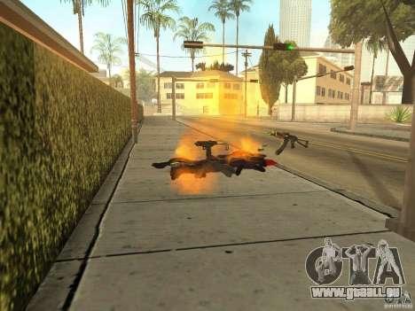 Inländischen Waffen-Version 1.5 für GTA San Andreas fünften Screenshot