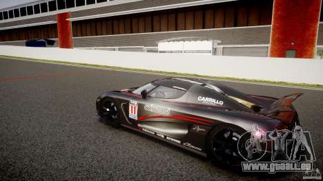 Koenigsegg Agera v1.0 [EPM] pour GTA 4
