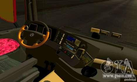 Mercedes-Benz Actros 2012 pour GTA San Andreas vue de droite