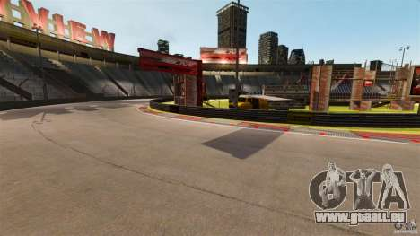 Hazyview Eight Drift Map für GTA 4 weiter Screenshot