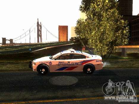 Dodge Charger 2011 Toronto Police für GTA San Andreas linke Ansicht