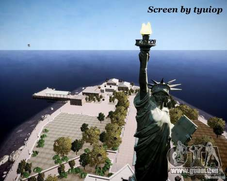 New Statue of Liberty für GTA 4 dritte Screenshot