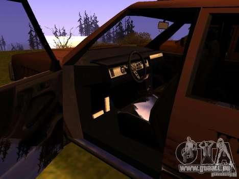 Mountainstalker S pour GTA San Andreas vue de dessus