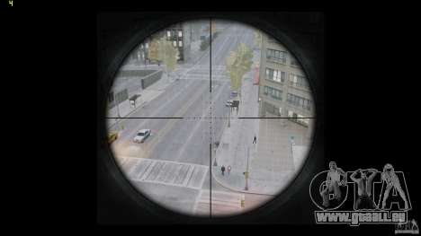 RSASS de MW3 (sniper) pour GTA 4 cinquième écran