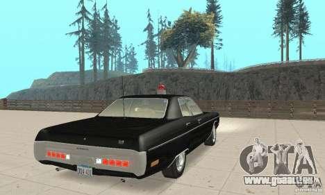 Plymouth Fury III Police für GTA San Andreas linke Ansicht