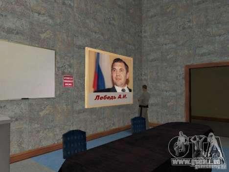 Corps de cadets de Krasnoïarsk pour GTA San Andreas onzième écran