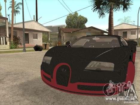 Bugatti Veyron Super Sport pour GTA San Andreas