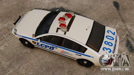 Polizei Pinnacle ESPA für GTA 4 rechte Ansicht