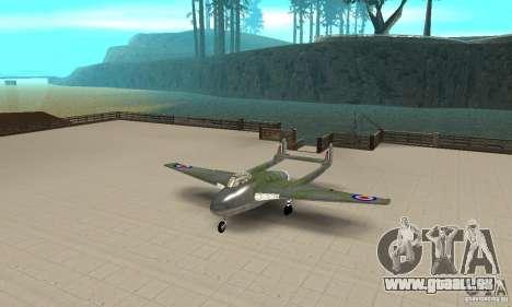 De-Havilland-Vampire ver 2.0 pour GTA San Andreas