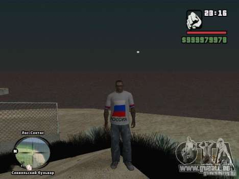 Football Russie pour GTA San Andreas sixième écran