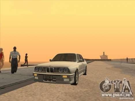 BMW M3 E30 1991 pour GTA San Andreas vue de droite