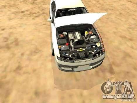 Nissan Silvia S14 JDM pour GTA San Andreas vue de côté