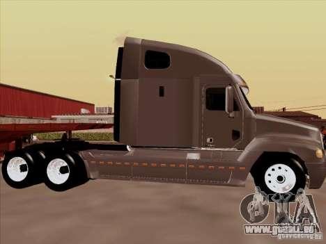 Freightliner Century ST pour GTA San Andreas sur la vue arrière gauche