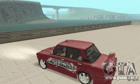VAZ 2107 Ex Tuning für GTA San Andreas rechten Ansicht