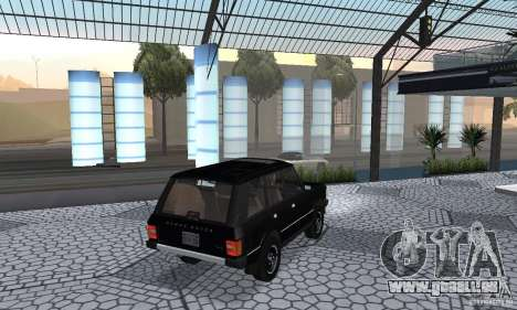 Range Rover County Classic 1990 für GTA San Andreas zurück linke Ansicht