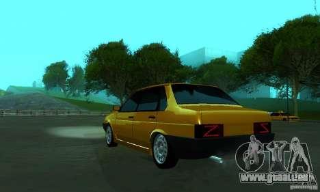 PROTOCOLE DE VAZ 21099 pour GTA San Andreas laissé vue