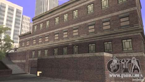 San Fierro Police Station 1.0 für GTA San Andreas zweiten Screenshot