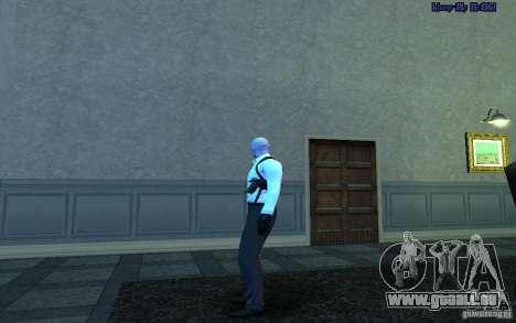 Agent 47 pour GTA San Andreas troisième écran